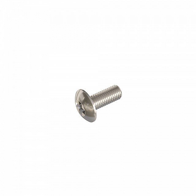 FURNITURE HANDLE MACHINE SCREWS M4x10 / NICKEL